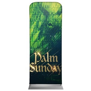 "Palm Sunday Green Donkey 2'7"" x 6'7"" Sleeve Banners"