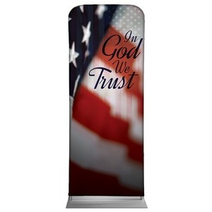 "God We Trust 2'7"" x 6'7"" Sleeve Banners"