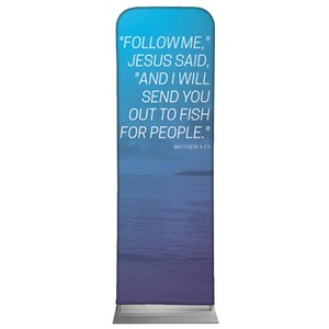 Color Wash Matt 4:19 2 x 6 Sleeve Banner
