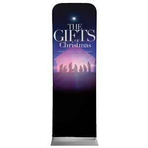The Gifts of Christmas Advent 2 x 6 Sleeve Banner