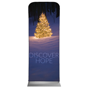 "Discover Hope Bright Tree 2'7"" x 6'7"" Sleeve Banners"