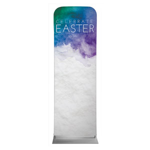 Celebrate Watercolor Easter 2 x 6 Sleeve Banner