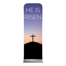 He Is Risen Sunrise Banner