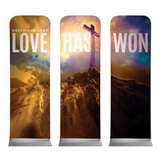 Love Has Won Banner