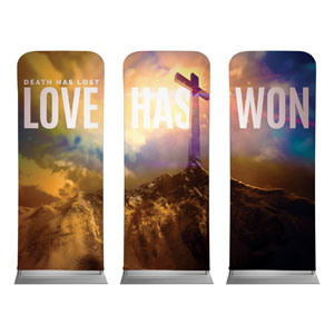 Love Has Won Banners
