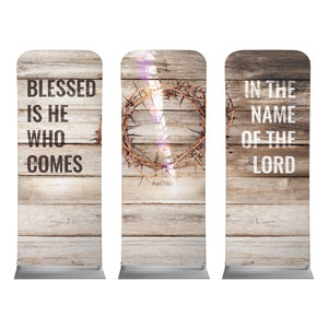 Blessed Is He 2 x 6 Sleeve Banner