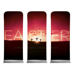 Celebrate Easter Crosses Banners