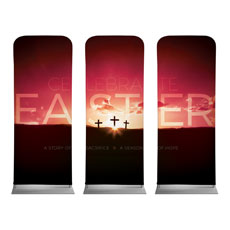 Celebrate Easter Crosses Banner