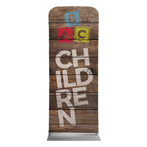 Shiplap Children Natural Banners