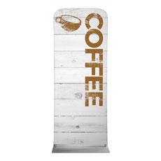 Shiplap Coffee White Banner