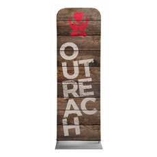 Shiplap Outreach Natural Banner