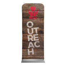 Shiplap Outreach Natural Banner