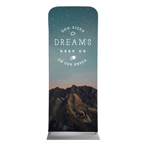 "Dreams 2'7"" x 6'7"" Sleeve Banners"
