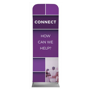 Mid Century Connect 2 x 6 Sleeve Banner