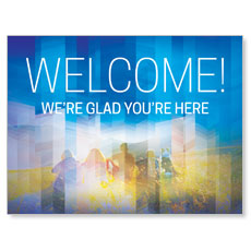 Modern Mosaic Welcome Banner