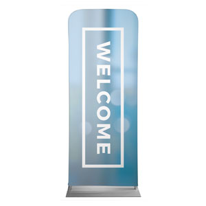 "Shimmer Welcome 2'7"" x 6'7"" Sleeve Banners"