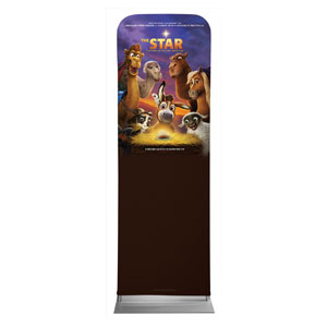The Star Movie Advent Series for Kids 2 x 6 Sleeve Banner