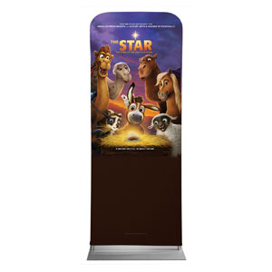 "The Star Movie Advent Series for Kids 2'7"" x 6'7"" Sleeve Banners"
