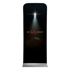 "Oh Holy Night 2'7"" x 6'7"" Sleeve Banners"