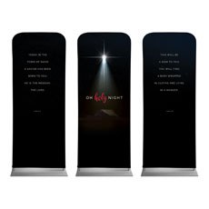 Oh Holy Night Banner