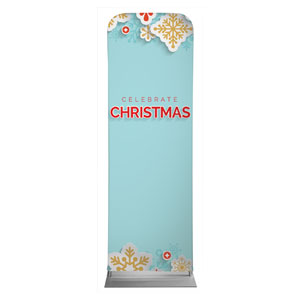 Paper Snowflakes 2 x 6 Sleeve Banner