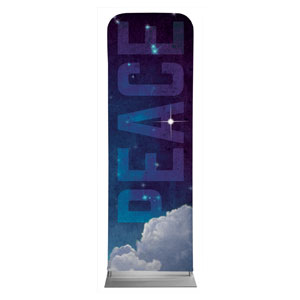 Peace Clouds 2 x 6 Sleeve Banner