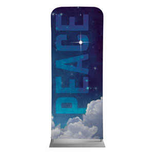 "Peace Clouds 2'7"" x 6'7"" Sleeve Banners"