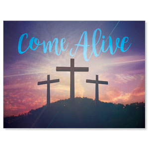 Come Alive Easter Journey Jumbo Banners
