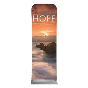 Hope Mountains 2 x 6 Sleeve Banner