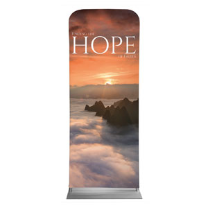 "Hope Mountains 2'7"" x 6'7"" Sleeve Banners"