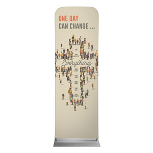 People Cross 2 x 6 Sleeve Banner