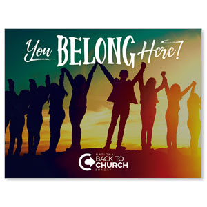 BTCS You Belong Here Jumbo Banners