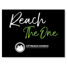 CityReach Black and Green Reach Banner