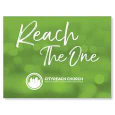CityReach Blurred Green Reach Banner