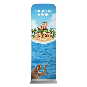 Shipwrecked Sign Up 2 x 6 Sleeve Banner