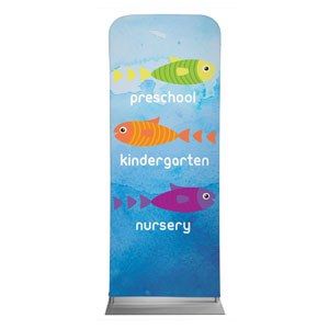 "Ocean Buddies Directional 2'7"" x 6'7"" Sleeve Banners"