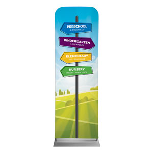 Bright Meadow Directional 2 x 6 Sleeve Banner