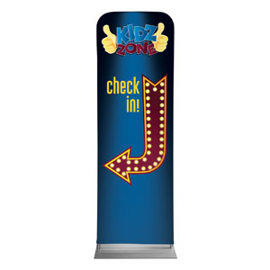Marquee Check In 2 x 6 Sleeve Banner