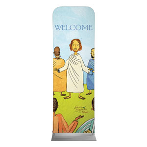 Jesus Storybook Bible 2 x 6 Sleeve Banner