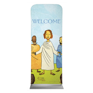 "Jesus Storybook Bible 2'7"" x 6'7"" Sleeve Banners"