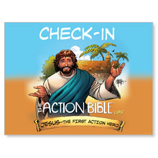 The Action Bible VBS Check In