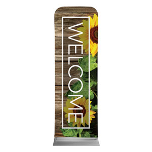 Wooden Slats Summer 2 x 6 Sleeve Banner