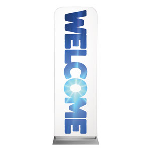 Welcome Sky 2 x 6 Sleeve Banner