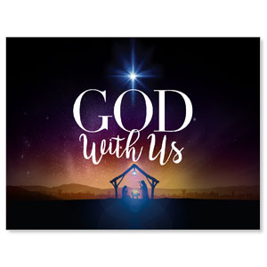 God With Us Advent Jumbo Banners