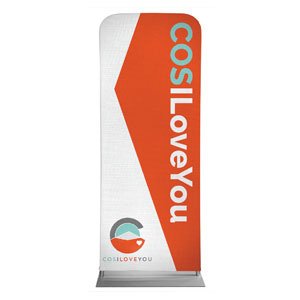 "COS I Love You 2'7"" x 6'7"" Sleeve Banners"