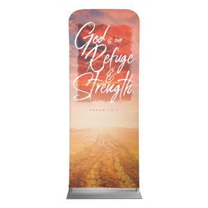 "Beautiful Praise Refuge and Strength 2'7"" x 6'7"" Sleeve Banners"