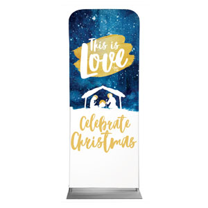 Painted Nativity Banners
