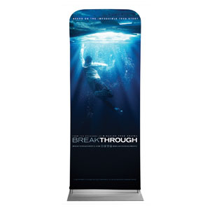 "Breakthrough 2'7"" x 6'7"" Sleeve Banners"