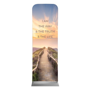 Way Truth Life Path 2 x 6 Sleeve Banner