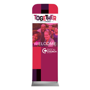 BTCS Together 2 x 6 Sleeve Banner
